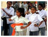 Estudiantes en la escuela, — Foto de Stock