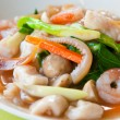 Seefood and Noodles in Creamy Sauce : Guaitiao Rad N: delicious traditi — Stock Photo #8381386