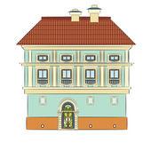 City house — Stock Vector