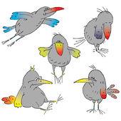 Birdies — Vetorial Stock