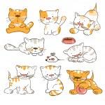 Kittens — Stock Vector #9013519