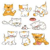 Kittens — Stock Vector