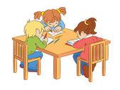 Children — 图库矢量图片