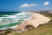 Caloundra beach from Point Cartwright, Queensland — Stock Photo