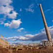Tower of an industrial complex in degradation — Stock Photo