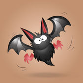 Funny Bat Vector — Stock Vector