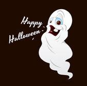 Halloween Cartoon Ghost — Stock Vector