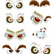 Royalty-Free Stock Immagine Vettoriale: Eyes Set