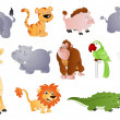 Stock Vector: Cute Animals