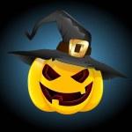 Halloween Pumpkin Vector — Stock Vector
