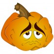 Cartoon Pumpkin Vector - Stock Vector