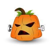 Spooky jack o fener vektör çizim — Stok Vektör