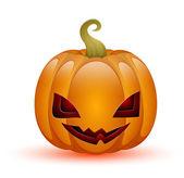 şirin halloween balkabağı — Stok Vektör
