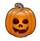 Art of Halloween Jack O Lantern — Stock Vector