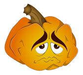 Cartoon Pumpkin Vector — Stock Vector