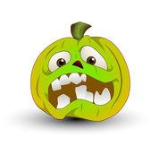 Illustration of Halloween Pumpkin — Stock Vector