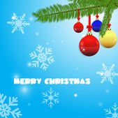 Decorative Christmas Elements — Vector de stock