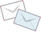 Ročník papírové obálky — Stock vektor