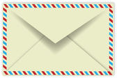 Vintage Envelope — Stock Vector