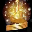 Vector Golden Award — Stock Vector