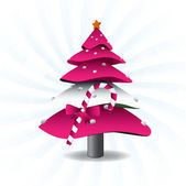 Vector Christmas Tree — Stock Vector