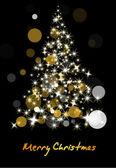 Sparkle Christmas Tree — Stock Vector