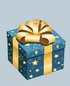 Decorative Vector Gift Box — Stock Vector