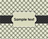 Vintage Label Template Design — Stock Vector