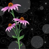 Vector Flower Plant — Stock Vector