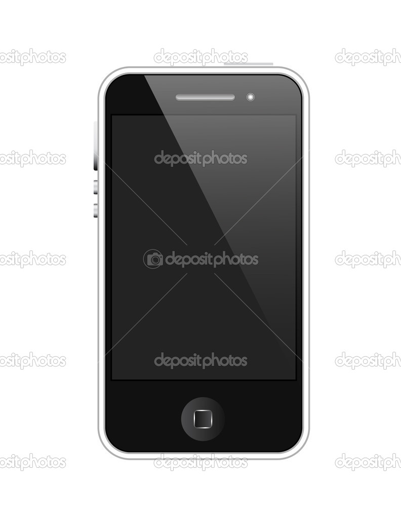 Abstract Creative Decor Design of Vector Mobile Phone — Stock Vector #8286820