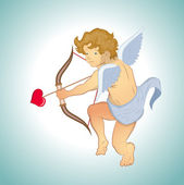 Vector Cupid — Stock Vector