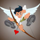 Young Cupid — Stock Vector