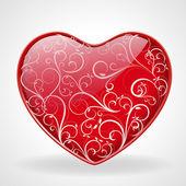 Flourish Heart — Stock Vector