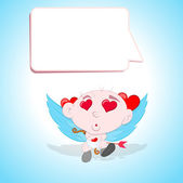 Baby Cupid — Stock Vector