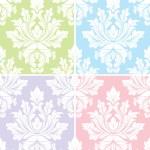 Vintage Damask Pattern Background — Stock Vector #8611819