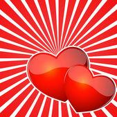 фон разрыва сердца — Cтоковый вектор