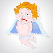 Rogue Cupid — Stock Vector