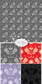 Damask Pattern Background — Wektor stockowy