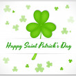 St. Patrick's Day Banner — Stock Vector