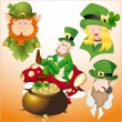 Royalty-Free Stock Vector Image: Patrick\'s Day Cartoon Vectors