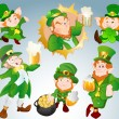 Patrick's Day Ireland Festival Vectors - Stock Vector