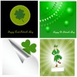 Patrick's Day Vector Backgrounds — Stock Vector