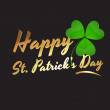 Happy St. Patrick's Day — Stock Vector #9445033