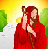 искусство иисуса христа — Cтоковый вектор