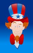 Vector Art of Uncle Sam — Stock Vector