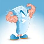 Cartoon Milk Box Vector — Stock Vector