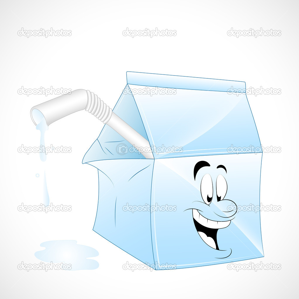 Creative Conceptual Vector Design of Milk Pack Illustration — Stock Vector #9712816