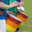 Royalty-Free Stock Photo: Samba drumming