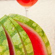 Slices of watermelon - Stock Photo