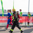 London marathon - Stock Photo